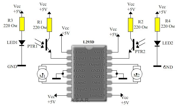 фотоэлементы и светодиоды